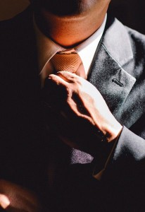businessman with tie cropped