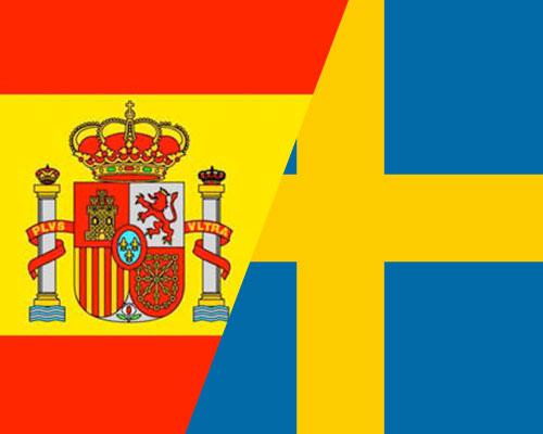 spanish swedish flag